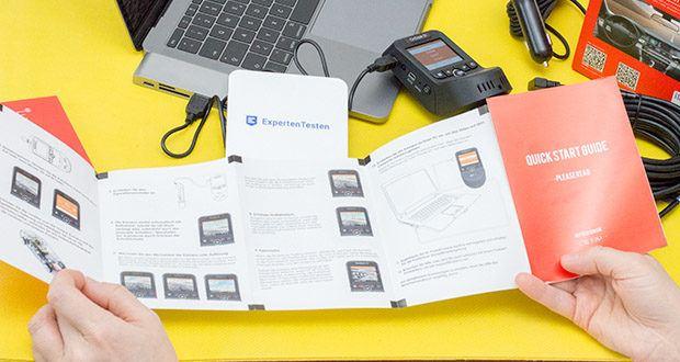 VANTRUE S1 Dual Dashcam im Test - GPS-Modus kann die Route und Geschwindigkeit verfolgen