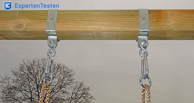 WICKEY Doppelschaukel mit Rutsche im Test - Qualitäts- und sicherheitsgeprüft