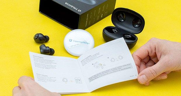 Tranya Rimor Bluetooth Kopfhörer im Test - einfache Bedienung und flexible Verwendung