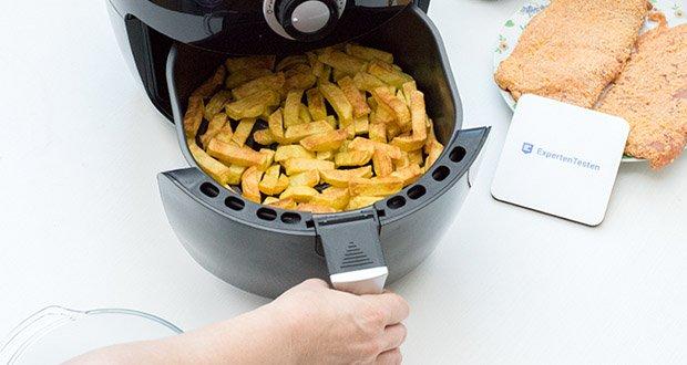Emerio Heißluftfritteuse im Test - Pommes ohne zusätzliches Öl frittieren