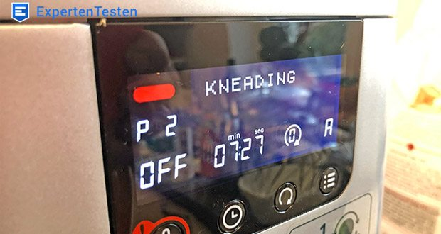 Kenwood Cooking Chef Gourmet KCC9060S Küchenmaschine im Test - die Einsatzmöglichkeiten der Cooking Chef sind durch den Temperaturbereich von 20°C bis zu 180°C unglaublich vielfältig