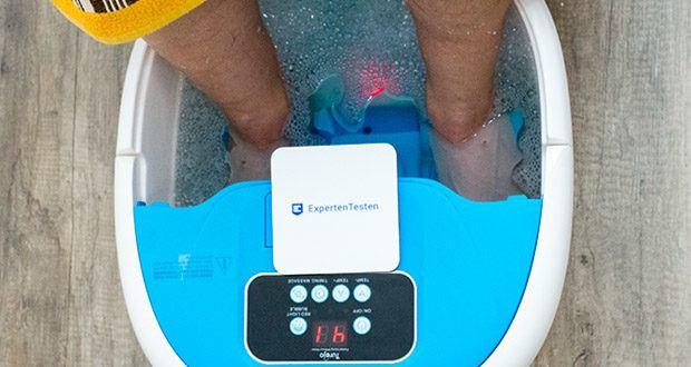 Turejo blue foot spa Fußbad im Test - Rotes Licht kann die Durchblutung der Füße effektiv verbessern und Ihnen einen besseren Gesundheitsschutz bieten