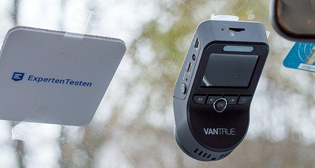 VANTRUE S1 Dual Dashcam im Test - große Winkel kann mehr Licht und Umfang erhalten, mithilfe Sony Sensor gleichen automatisch die hellen und dunklen Bereiche des Videos aus und verbessern die Nachtsicht im Auto