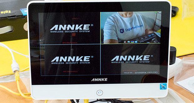 ANNKE Sicherheitssystem mit LCD-Monitor im Test - das Überwachungssystem mit Monitor wurde extra für Zuhause und Geschäfte hergestellt