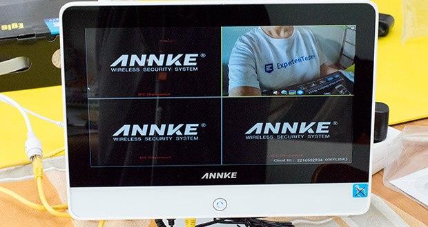 ANNKE Sicherheitssystem mit LCD-<a href=