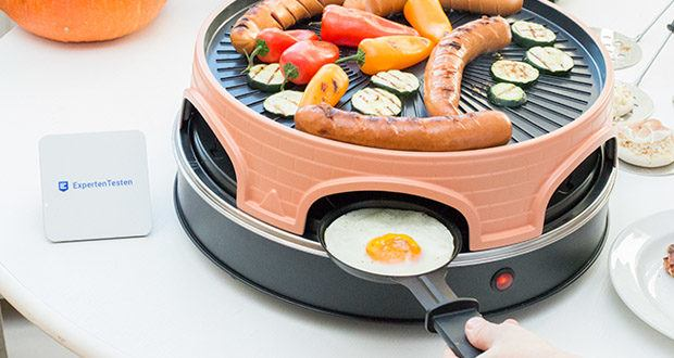 Emerio Pizzaofen PIZZARETTE PO-113255.4 3 in 1 Pizza-Raclette-Grill im Test