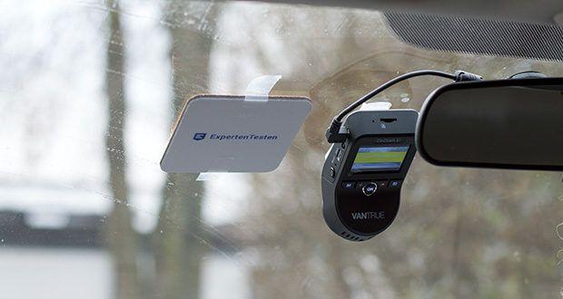 VANTRUE S1 Dual Dashcam im Test - bei schlechten Lichtverhältnissen macht es das Fahren in der Nacht lebendiger und sicherer, zeigt uns das kristallklare Video