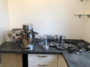 Der Anschluss der Kenwood Cooking Chef Gourmet