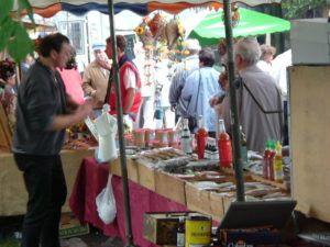 Marktstand 1996 des MTG Gewürze Shop