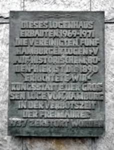 Große Loge von Hamburg des Distriktsloge Hamburg Verein