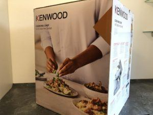 Die Maße der Kenwood Cooking Chef Gourmet im Test
