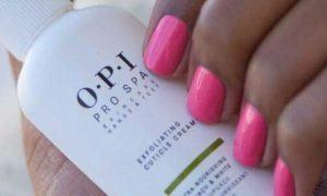gepflegte Nägel halten Nagelhautentferner von O.P.I.