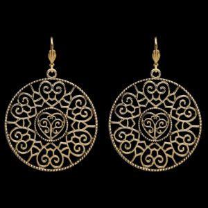 Orientalische Statement Ohrringe im Paradies Shop kaufen