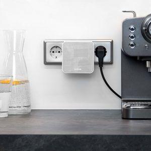 Audio-Affairs Steckdosenradio in der Küche