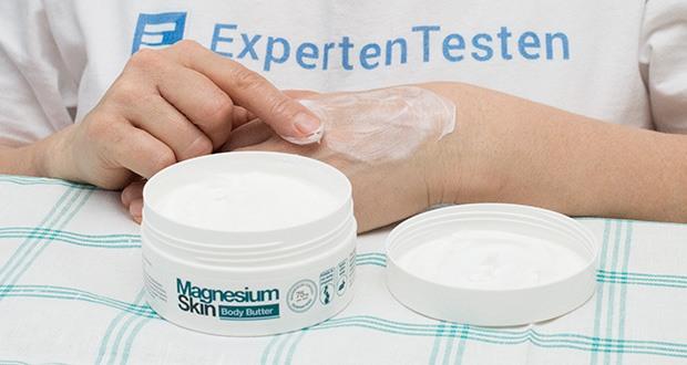 BetterYou Magnesium Body Butter im Test - Verwendung: massieren in die saubere, trockene Haut