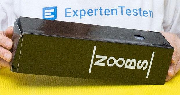 Noobs Premium Trinkflasche 500ml blau im Test - BPA-frei, isoliert und auslaufsicher