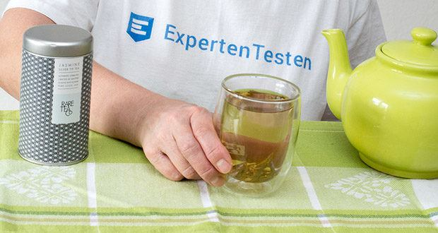 Rare Tea Company Jasmine White Silver Tip Tee im Praxistest