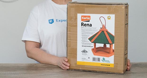 Karlie Bird'S World Wild Vogelhaus Rena im Test - Material: Naturholz