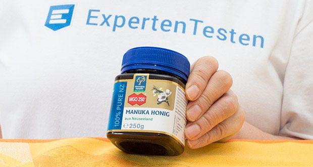 Manuka-Health Manuka Honig MGO 250+ (250 g) im Test - enthält mindestens 250 mg/kg Methylglyoxal (MGO)