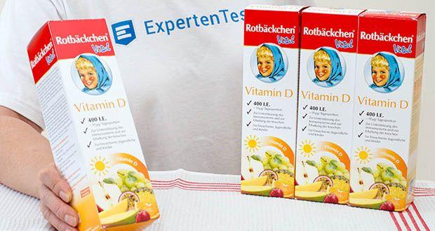Rotbäckchen Vital Vitamin D im Test - mit pflanzlichem Vitamin D3