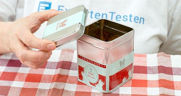 Dolcana Rotbusch/Wildkirsche Tee im Test - ausschließlich natürliche Aromen
