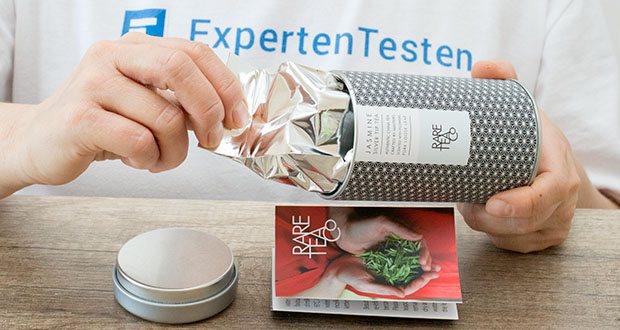 Rare Tea Company Jasmine White Silver Tip Tee im Test - Direkt gehandelt aus Fuding, Provinz Fujian, China