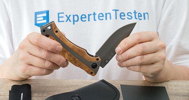 BERGKVIST Klappmesser K29 Titanium im Test - Daumen Lock für mehr Sicherheit