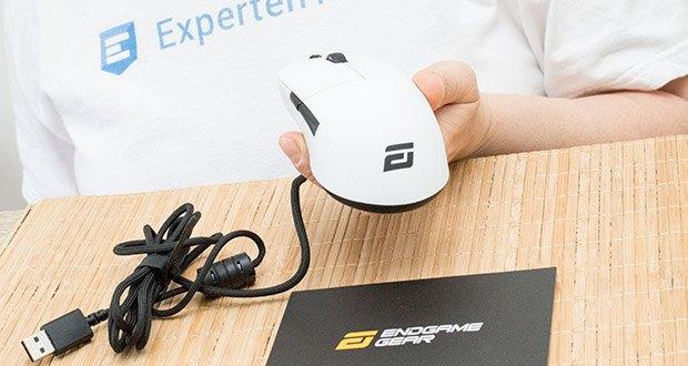 Endgame Gear XM1 Gaming Maus im Test - insgesamt 5x Tasten inklusive Mausrad mit 2-Wege-Scrolling