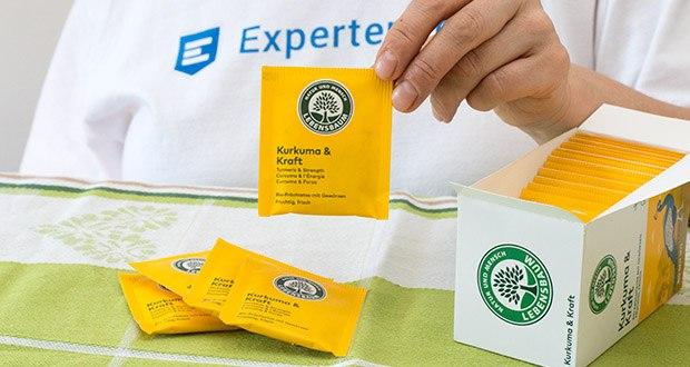 Lebensbaum Kurkuma & Kraft Teebeutel 40g im Test - 100% Bio-Anbau
