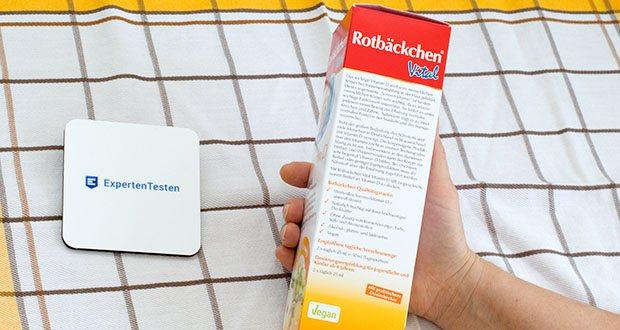 Rotbäckchen Vital Vitamin D im Test - Alkoholfrei, Vegan