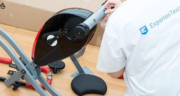 Wellactive Heimtrainer F-Bike Curved im Test - Transportrollen zum einfachen Verschieben