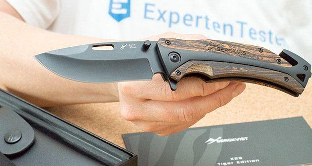 BERGKVIST 3-in-1 Taschenmesser K29 Tiger im Test - Klingenlänge Total: 8.9 cm