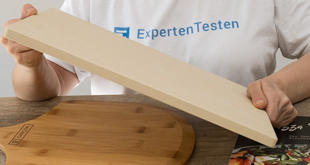 GARCON Pizzastein für Backofen und Gasgrill 3er Set im Test - ist mit seiner Größe von 38 x 30 cm für nahezu jeden Backofen, Gasgrill und Holzkohlegrill geeignet
