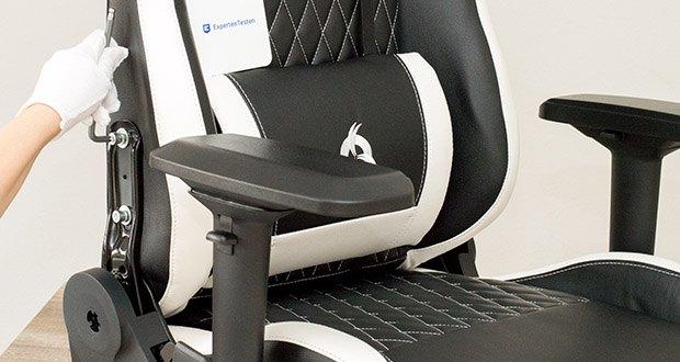 KLIM Esports Gaming Stuhl im Test - hält einem Gewicht von bis zu 150 kg stand