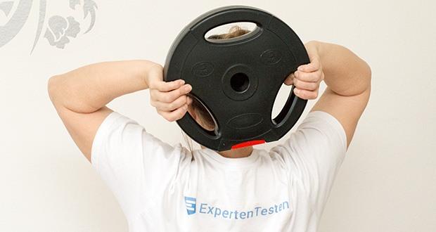 Wellactive Hantelscheiben Set im Test - für effektive und individuelle Übungen zur Stärkung und zum Aufbau der Muskulatur (Rücken, Bauch, Schulter, Bein, Brust, Arm)