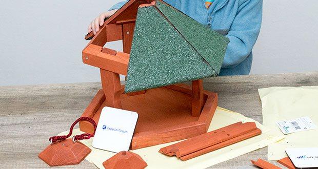 Karlie Bird'S World Wild Vogelhaus Rena im Test - die Teilen müssen zusammengebaut werden