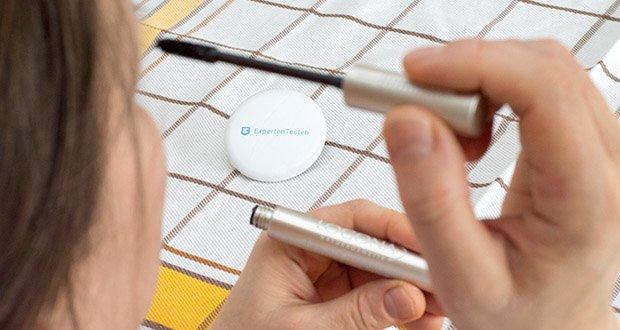 LOGONA Naturkosmetik Wimperntusche Mascara Natural Look im Test - gleichzeitige Pflege mit Anti-Aging-Formel