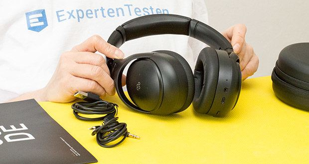 Mu6 Space 2 Active Noise Cancelling Kopfhörer im Test - mit Hybrid Active Noise Cancellation Technology
