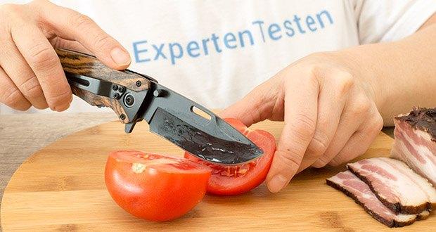 BERGKVIST 3-in-1 Taschenmesser K29 Tiger im Test - auch als Gemüsemesser für unterwegs