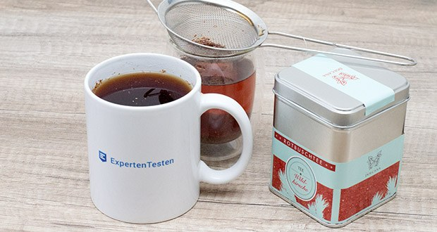 Dolcana Rotbusch/Wildkirsche Tee im Test - Rotbusch besticht durch sein herzhaftes, natursüsses Aroma und kann warm oder kalt getrunken werden