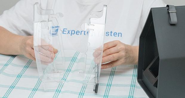 Emsa Vogel-Futtersilo im Test - leichte Reinigung - alle Teile können demontiert werden