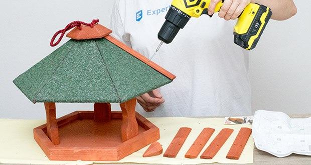 Karlie Bird'S World Wild Vogelhaus Rena im Test - einfache Montage