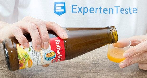 Rotbäckchen Vital Vitamin D im Test - eine Flasche enthält 9 Portionen einer Tagesration (50ml) für Erwachsene