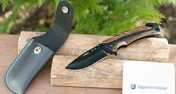 BERGKVIST 3-in-1 Taschenmesser K29 Tiger im Test - bestens geeignet für dein Camping Zubehör & Überlebens-Ausrüstung
