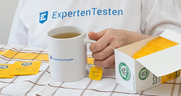 Lebensbaum Kurkuma & Kraft Teebeutel 40g im Test - mittelkräftig und aromatisch