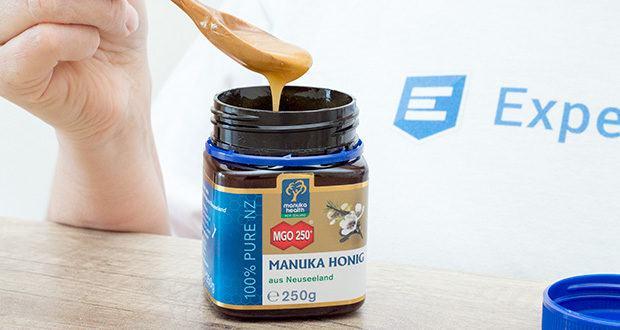 Manuka-Health Manuka Honig MGO 250+ (250 g) im Test - ist frei von Zusatzstoffen und Rückständen von Antibiotika oder Pestiziden