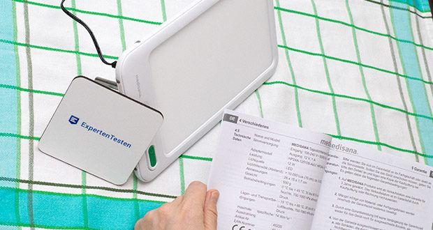 Medisana LT 460 Tageslichtlampe im Test - kann zu jeder Zeit vitalisierendes Tageslicht erzeugen