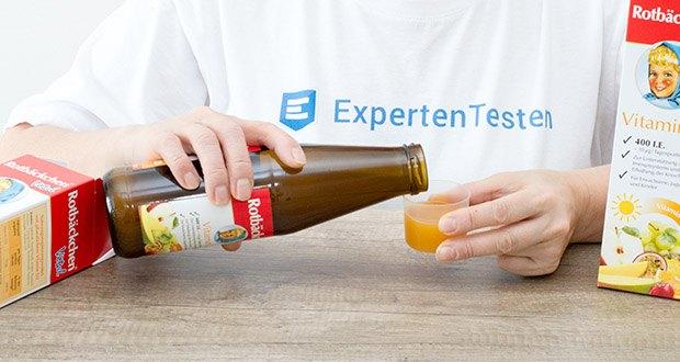 Rotbäckchen Vital Vitamin D im Test - empfehlenswert eine ausgewogene und abwechslungsreiche Ernährung und eine gesunde Lebensweise