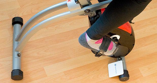 Wellactive Heimtrainer F-Bike Curved im Test - achtstufiges Magnet-Bremssystem für individuelles Herz-Kreislauf- und Ausdauertraining