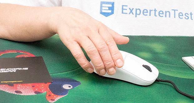 Endgame Gear XM1 Gaming Maus im Test - ergonomische Rechtshänder-Maus für Claw Grip, Palm Grip & Finger Grip mit ultraleichter Konstruktion (70 Gramm Gesamtgewicht)